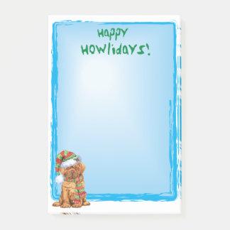 Happy Howlidays Dogue Post-it Notes