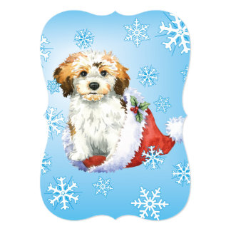 Happy Howlidays Havanese Card