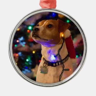 Happy Howlidays! Metal Ornament