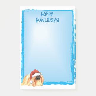 Happy Howlidays Pekingese Post-it Notes