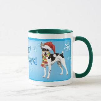 Happy Howlidays Rat Terrier Mug