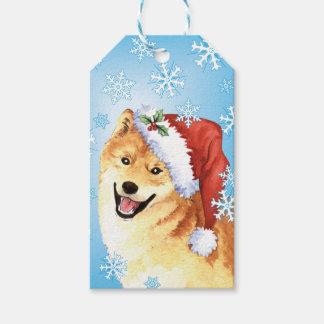 Happy Howlidays Shiba Inu Gift Tags