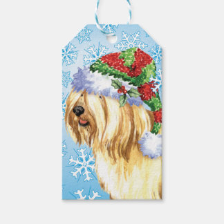 Happy Howlidays Tibetan Terrier Gift Tags