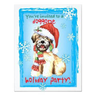 Happy Howlidays Wheaten Card
