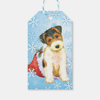 Happy Howlidays Wire Fox Terrier