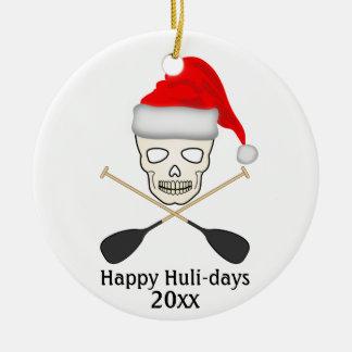 Happy Huli-days Ceramic Ornament