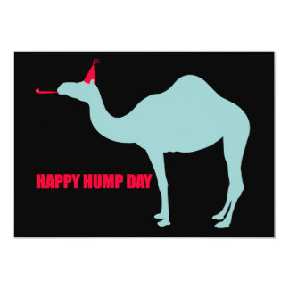 Happy Hump Day Camel Invitations