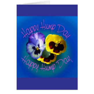 Happy Hump Day Greeting Card