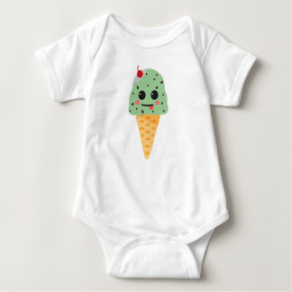 Happy ice cream baby bodysuit