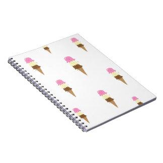 happy ice creams notebook