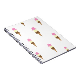 happy ice creams notebooks