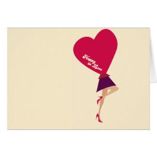 Happy in Love Card