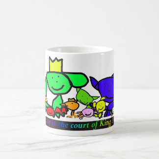 Happy in the court of King Dog Coffee Mug