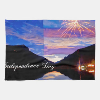 Happy Independence Day Hand Towels