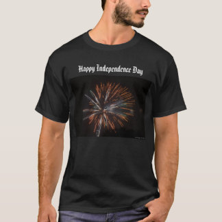 Happy Independence Day- Men's Basic Dark T-Shirt