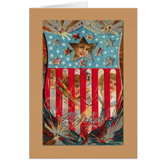 Happy Independence Day! Note Card