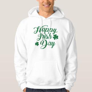 Happy irish day hoodie