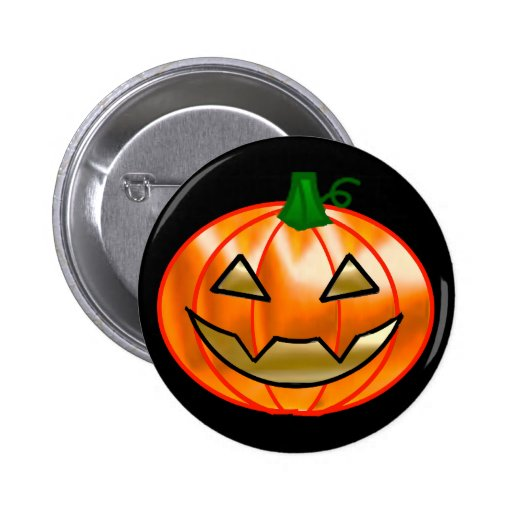 Happy Jack O Lantern Pin