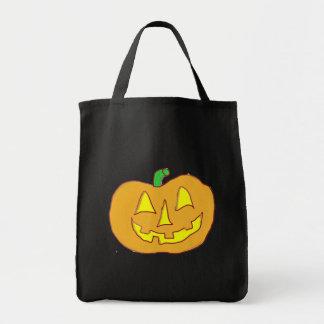 Happy Jack O Lantern Tote Bag