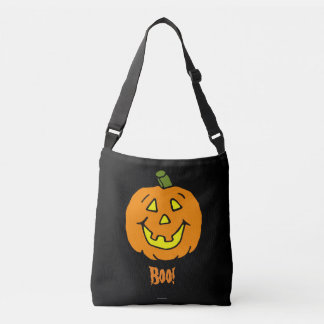 Happy Jack-o-lantern Halloween Crossbody Bag