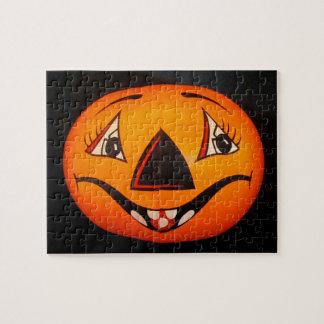 Happy Jack O' Lantern Halloween Jigsaw Puzzle