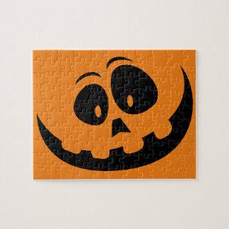 Happy Jack-O'-Lantern Pumpkin - Customize Puzzles