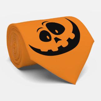 Happy Jack-O'-Lantern Pumpkin - Customize Tie