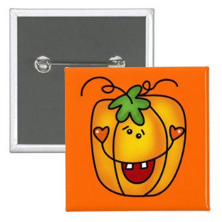 Happy Jack O Lantern Tshirts and Gifts Pin