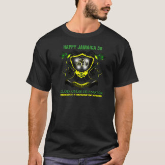 Happy Jamaica 50 Golden Jubilee T-Shirt