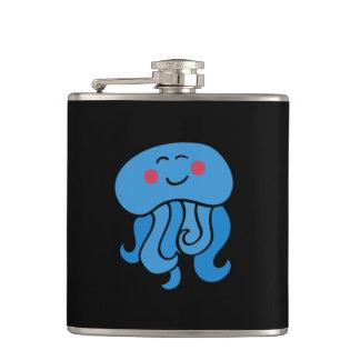 happy jelly fish flasks