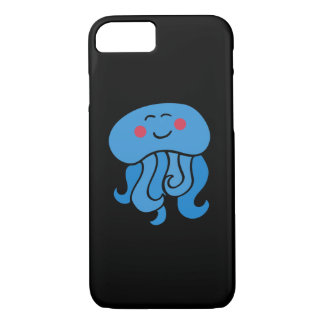 happy jelly fish iPhone 8/7 case