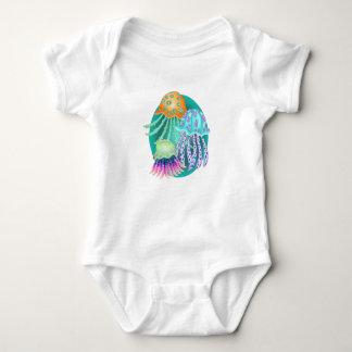 Happy Jellyfish Baby Bodysuit