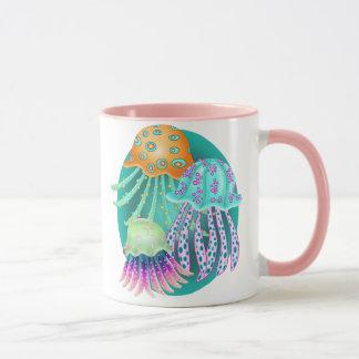 Happy Jellyfish Mug