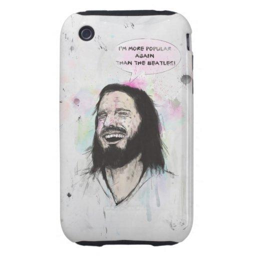 Happy Jesus iPhone 3 Tough Covers