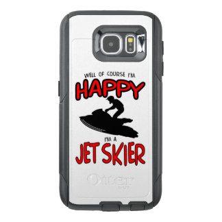 HAPPY JET SKIER (black) OtterBox Samsung Galaxy S6 Case