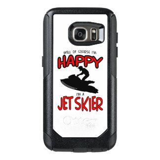 HAPPY JET SKIER (black) OtterBox Samsung Galaxy S7 Case