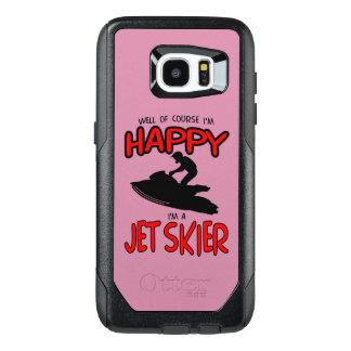 HAPPY JET SKIER (black) OtterBox Samsung Galaxy S7 Edge Case