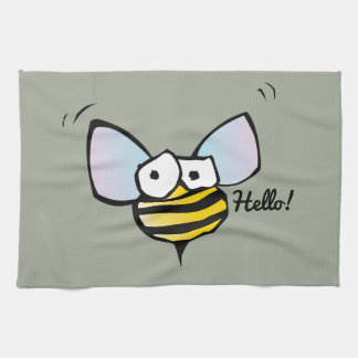 Happy Jolly Bee Kitchen Towels