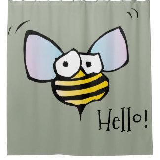 Honey Bee Shower Curtains | Zazzle.com.au
