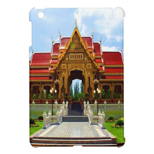 happy  joy temple buddhism thai religion thailand cover for the iPad mini
