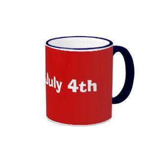 Happy July 4th Coffee Mugs