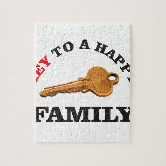 happy key family jigsaw puzzle