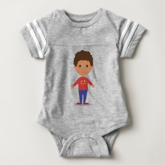 Happy Kid Baby Bodysuit