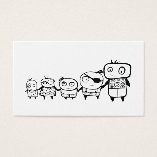 Happy Kids Business Card