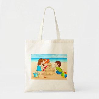 Happy kids tote budget tote bag
