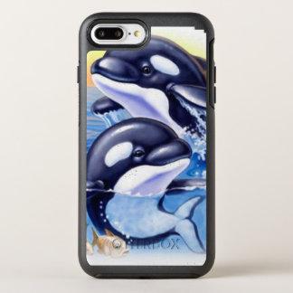 Happy Killer Whales OtterBox Symmetry iPhone 8 Plus/7 Plus Case
