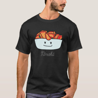 Happy Kimchi Kimchee Bowl - Happy Foods Designs T-Shirt