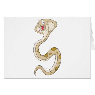 Happy King Cobra Card