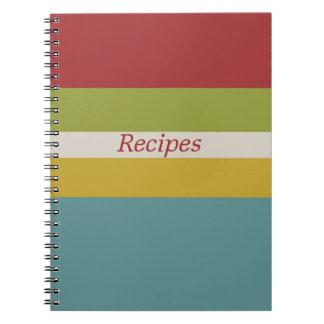 Happy Kitchen Recipe Notebook