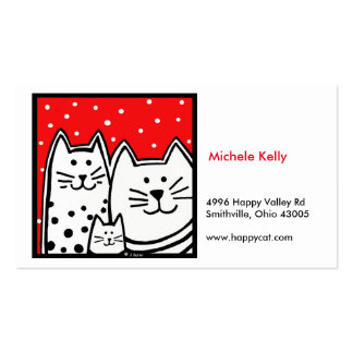 Happy Kitty Business Card